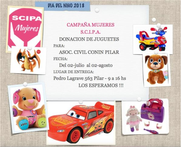 Juguetes Conin Colecta De Para Donar Pilar A 0ONwkP8nXZ