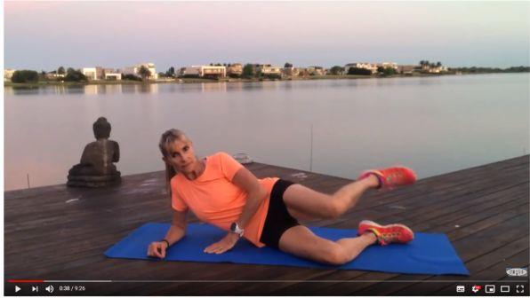 Virginia Elizalde: ejercicios de glúteos y piernas